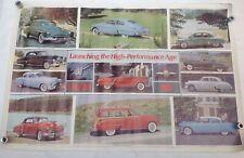 Vintage Car Poster Olds 88