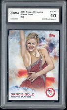 2014 Gracie Gold Topps Usa Olympics Figure Skating Rookie Gem 10 #40