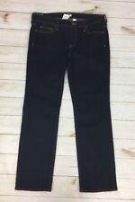 Women's J.CREW Straight & Narrow Jeans Rinse Wash 34 x 29 F0103 PLEASE READ