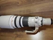 Canon EF 600mm f4 L IS USM Lens + ET-160 Hood + Hard Case