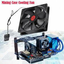 LED Cooling Fans 120x25mm PC Fan Bitcoin Mining Rig Fan Per Frame Case 3000RPM K