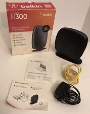 Belkin Surf N300 300 Mbps 4-Port 10/100 Wireless N Router (F7D6301)