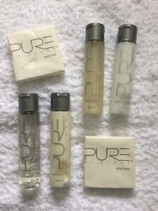 PURE BY GLOSS Travel Size TOILETRIES. Lemon Infusion. 6 Items. *NEW*