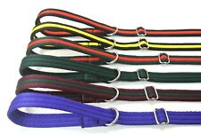 """60"""" Gun Dog Slip Leads Training Obedience Leash 20mm 25mm Soft Various Colours"""