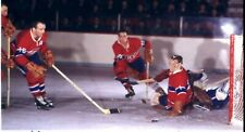 CHARLIE HODGE AND HENRI RICHARD MONTREAL CANADIENS ACTION  HOCKEY PHOTO 8X10