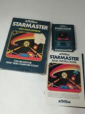 STARMASTER GAME CIB PAL VERSION FOR ATARI 2600  ( NOT FOR USA) J12