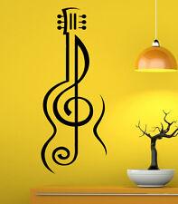 Music Wall Decal Vinyl Sticker Music Notes Treble Clef Interior Art Decor (8mu6)
