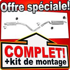 Echappement FIAT STILO 1.9 JTD MJT BREAK 2002-2007 Silencieux R96