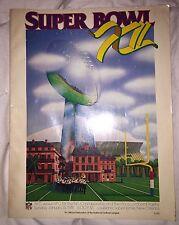 Super Bowl XII/12 Program Dallas Cowboys vs. Denver Broncos, 1/15/78