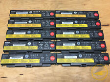 LOT OF 10 Lenovo ThinkPad 6 Cell 57+ Laptop Battery T440p T540p W540 W541 L440