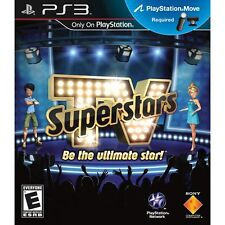 TV Superstars [PlayStation 3 PS3, Move Ready, Celebrity Game Show Game] NEW