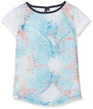 T-shirt multicolore à longueur de manches manches courtes pour fille de 2 à 16 ans