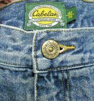 """Men's Cabela's Fleece-Lined Jeans Size 42""""X34"""" (Actual measurement: 41.5""""X32.5"""")"""
