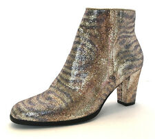 I-7 Impo Sequin Ankle Boots, Gold/Silver, Women's Size 7M US