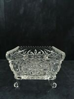 """Vintage Footed Square Bowl The Byrdes Collection byHOFBAUER 5"""""""