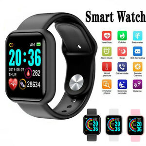 Smart Watch Y68 Fitness Heart rate Pedometer Blood Pressure Activity Tracker