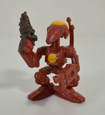 """2001 Red Battle Droid Army Commander 2"""" Action Figure Star Wars Galactic Heroes"""