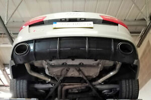 AUDI RS6 ( C7 ) Rear silencer delete pipes