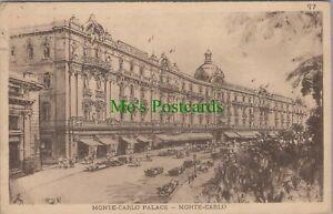 Monaco Postcard - Monte-Carlo Palace, Monte-Carlo    RS25113