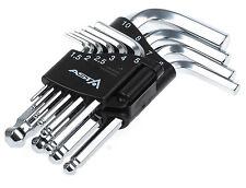 Innensechskant Schlüssel 10-tlg. Winkelschlüssel für Inbus Schrauben Kugelkopf