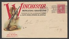 1915 WINCHESTER REPEATING SHOTGUNS ILLUSTRATED ADVERTISING COVER. SENECA FALLS