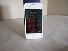 Apple iPhone 4 - 8Gb - White (At&T) A1332 (Gsm) Sim card - See Description