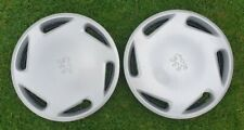 Genuine Peugeot 106 Wheel Trims 13 inch x 2