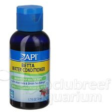 Betta Conditioner 1.7oz Detoxify Ammonia Chlorine Tap Water Fish Bowl API