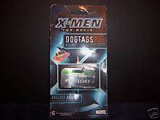 New Authentic Professor X Dogtag X-Men Movie Marvel Toy Distressed Package