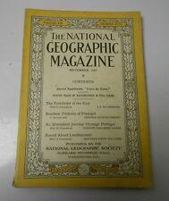 1927 National Geographic v. LII #5 Portugal Liechtenstein VG