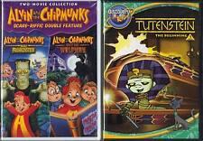 Alvin & Chipmunks Scare-riffic Double Feature.& Tutenstein The Beginning Vol. 1