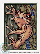 © ART - Australian Tree Frog Original Australian Wildlife Animal Artist Print Di