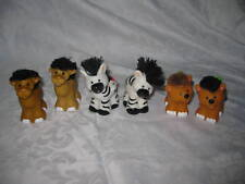 Fisher Price Little People Touch & Feel Zoo Ark 3 Pairs camel giraffe zebra lot