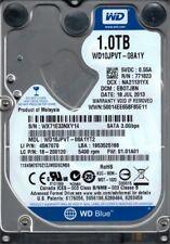 WD10JPVT-08A1YT2 DCM: EBOTJBN WX71E Western Digital 1TB