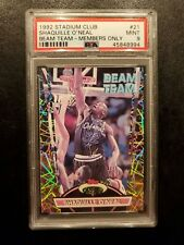 1992 Stadium Club Beam Team Shaquille O'neal  MEMBERS ONLY  Rookie RC PSA 9