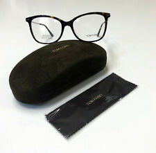 Tom Ford TF 5510-F Asian Fit Dark Havana Pail Gold 052 Eyeglass RX Frame Glasses