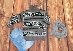 Wool Norwegian boys sweater Size 13-14