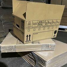 LARGE USED DOUBLE WALL Cardboard Boxes House Moving- Removal Packing box CHEAP
