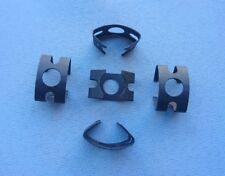 (424) 5x soporte, bremsschlauch, mantén resorte, bremsschlauchhalter, muelle,