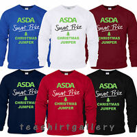 ASDA Smart Price Funny Joke XMAS Present Sweatshirt Mens Ladies CHRISTMAS JUMPER