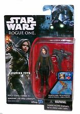 Star Wars Rogue One Series Sergeant Jyn Erso Jedha 3.75 Action Figure Hasbro