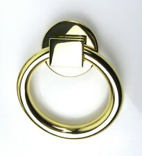 Baldwin Brass Round Ring Door Knocker Polished Brass