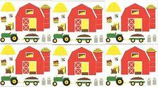 Mrs Grossman's BARN Farm Tractor Hay Scrapbook Stickers 3 Sheets