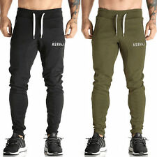 Mens Slim Fit Jogging Bottoms Skinny Tracksuit Joggers Pants Sweatpants Trousers