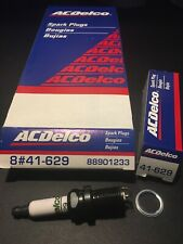 **LOT OF 8**  New Old Stock - AC Delco OEM Spark Plug 41-629