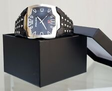 Genuine POLICE Mens Avenger watch Black Leather Strap RRP£220 (PO105