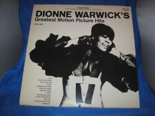 DIONNE WARWICK: Greatest Motion Picture Hits LP (embossed cover) Soul[INV-10]