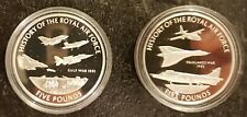 More details for guernsey 2008 proof silver £5 x 2
