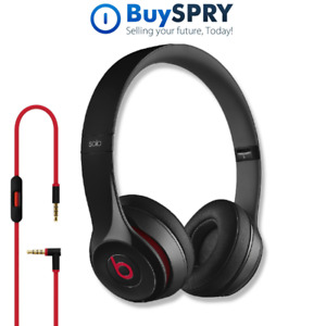 Beats by Dr. Dre Solo 2 🎧 Wired On-Ear Headphones 🎵 Black MH8W2AM/A