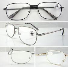 L42 Reading Glasses Spring Hinges/Relative Large Metal Frame Designed ^^^